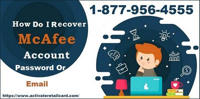 How Do I Recover McAfee Account Password or Email Easily