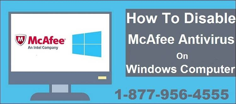 How To Disable McAfee Antivirus On Windows Computer
