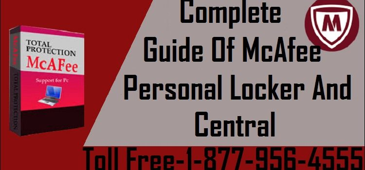 McAfee Personal Locker And Central