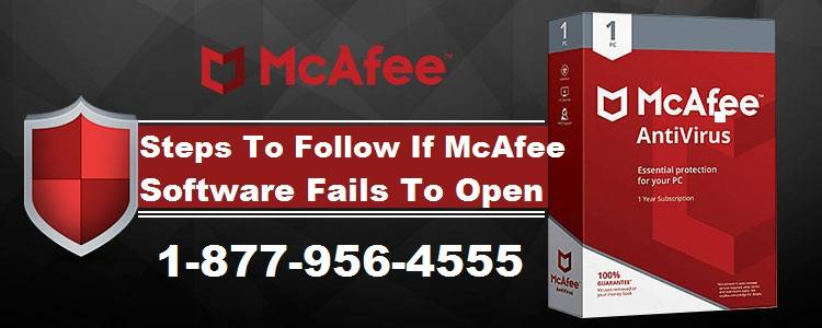 McAfee Software Fails To Open