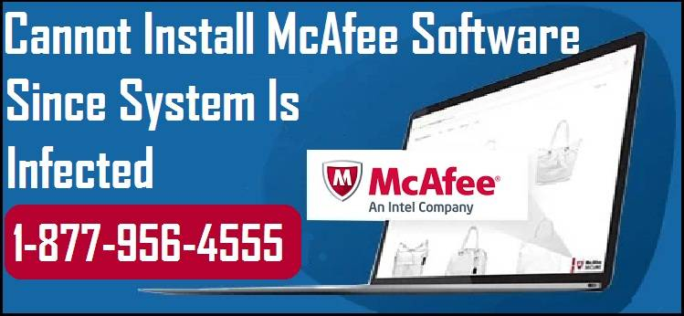 Cannot Install McAfee Software
